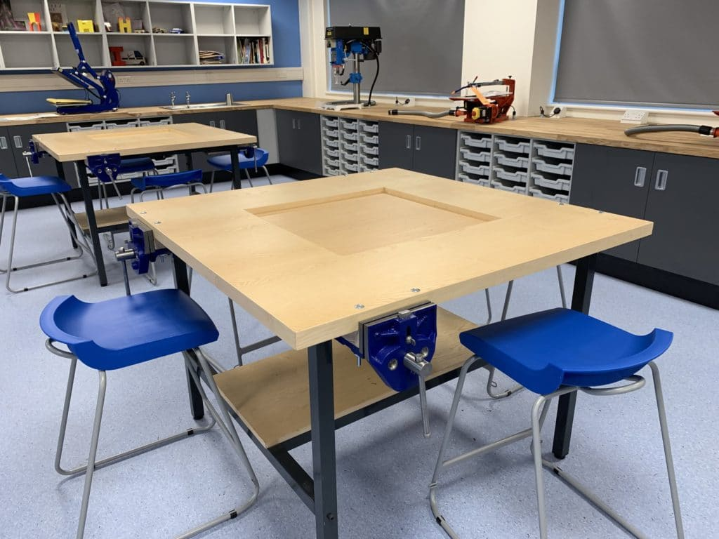 Blackminster Middle School Design And Technology Classroom
