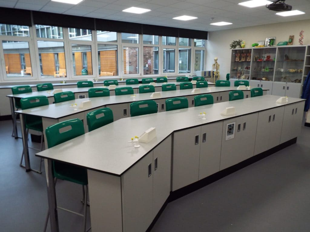 Derby High School Science Laboratory