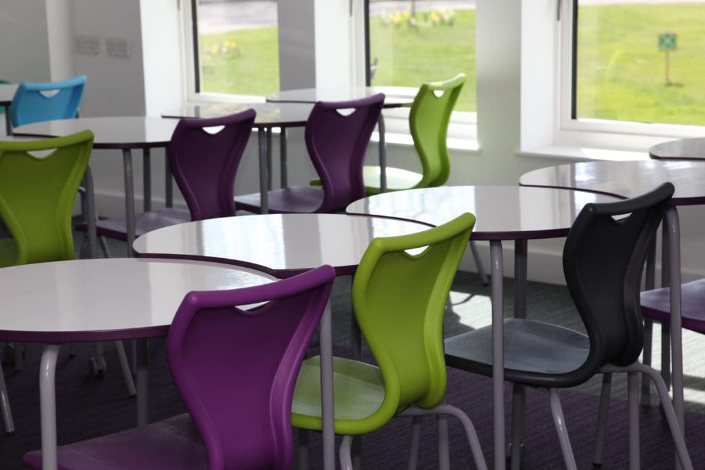 Epsom College classroom furniture