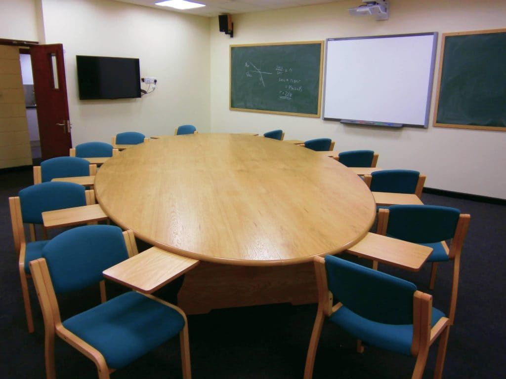 Harrow School classroom furniture