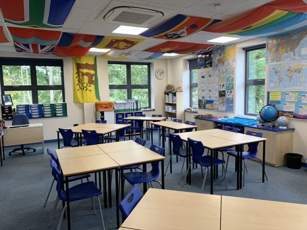 Holme Grange School classroom furniture