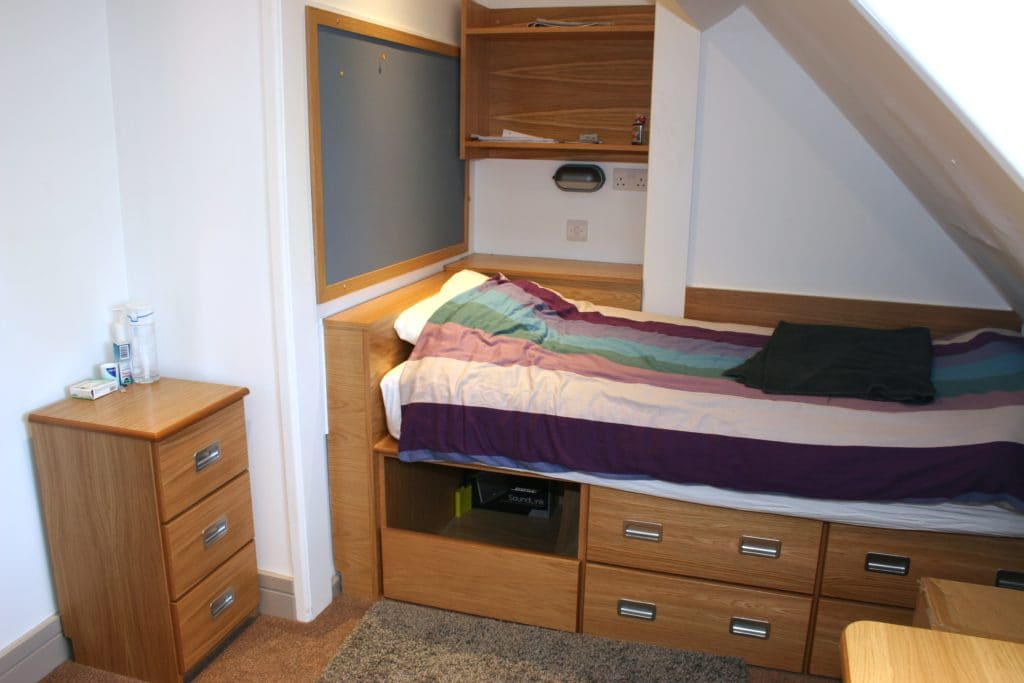 Marlborough College bedroom boarding accomodation