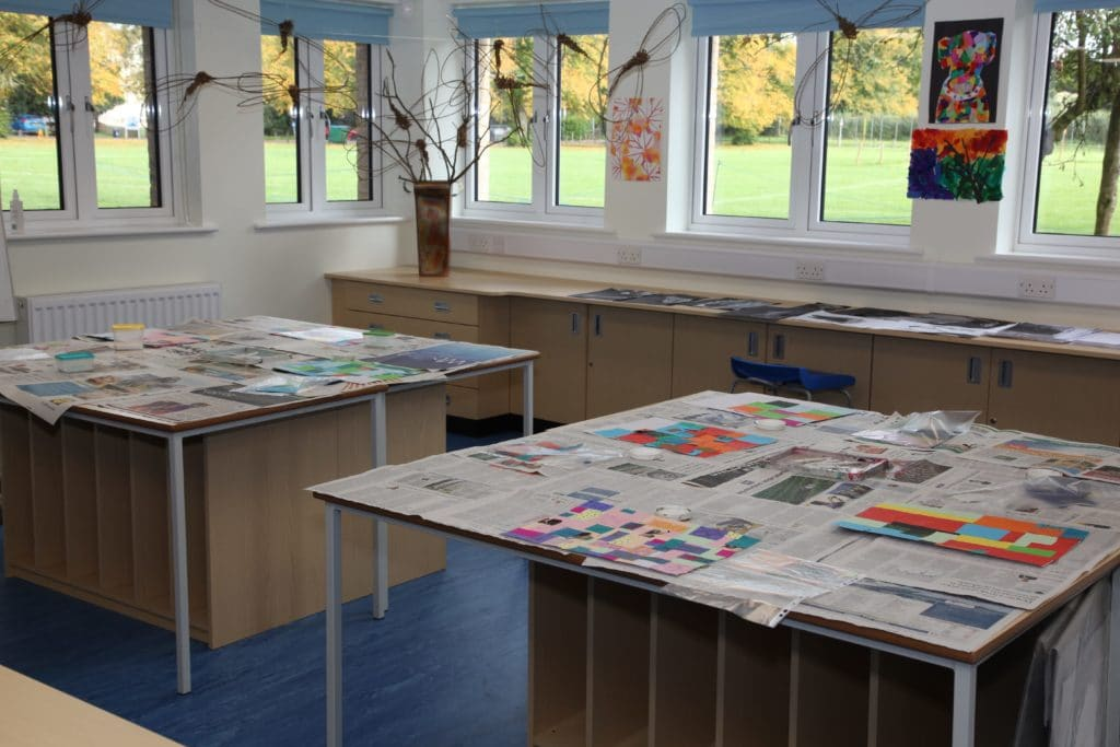 Swanbourne House School Art Room