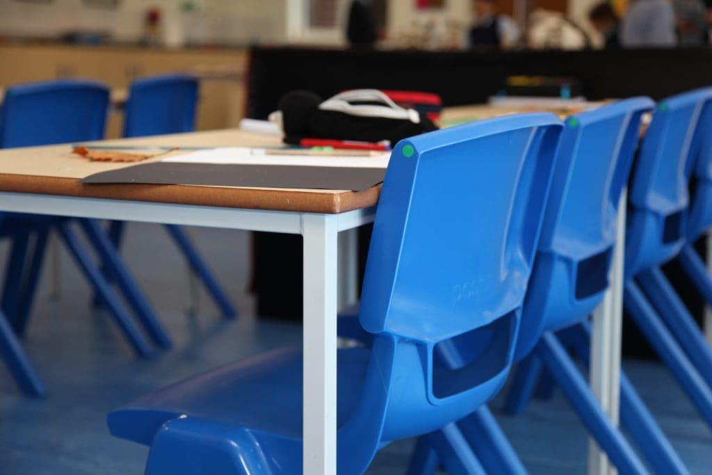 Swanbourne House School classroom furniture