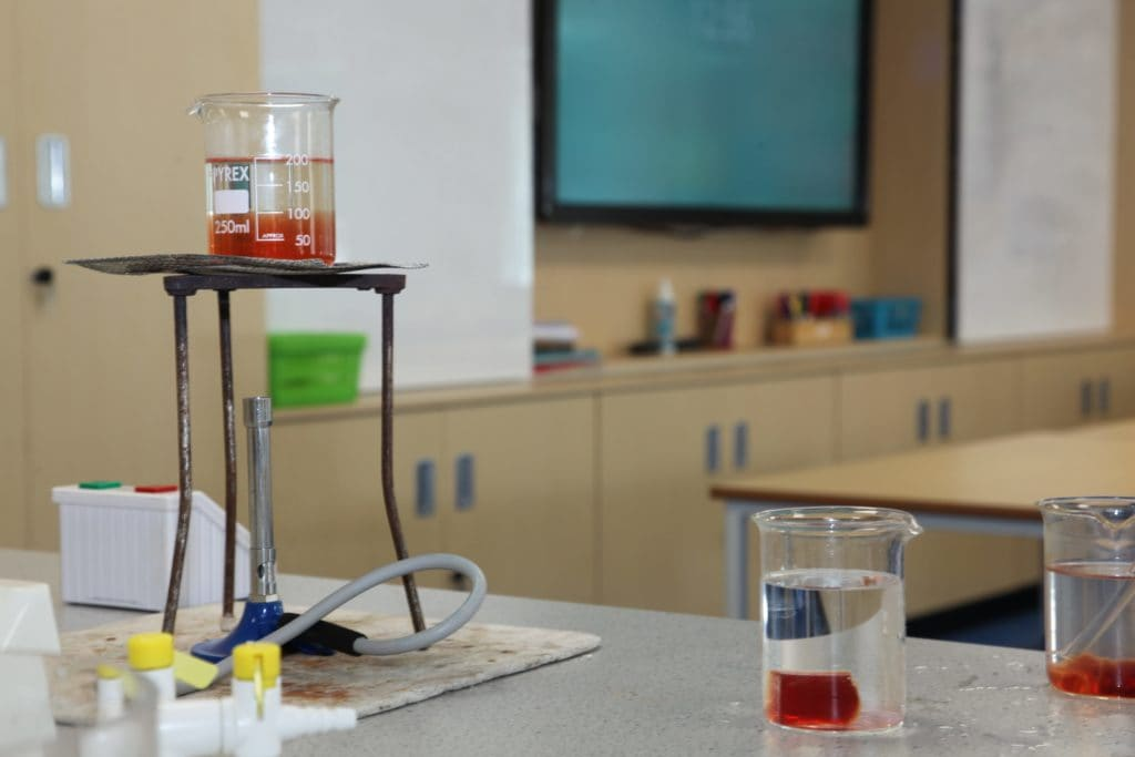 Swanbourne House School Science Laboratory
