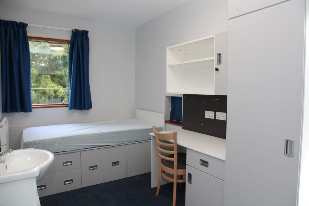 Woldingham School bedroom boarding furniture