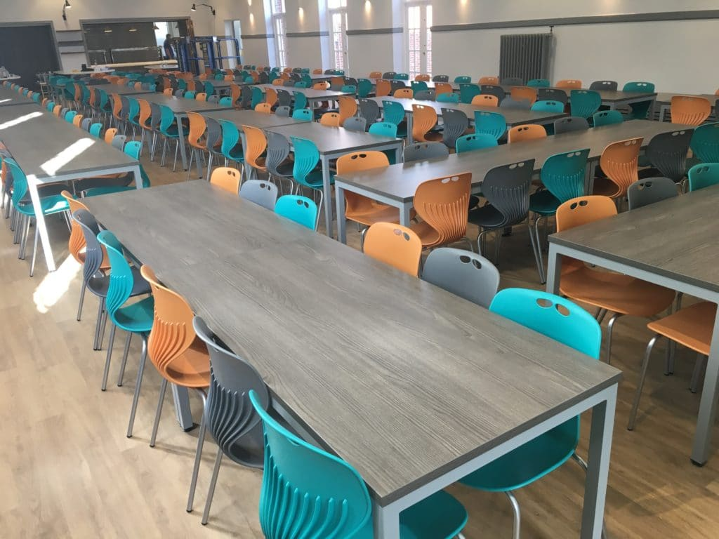 Blue Coat School Dining Furniture