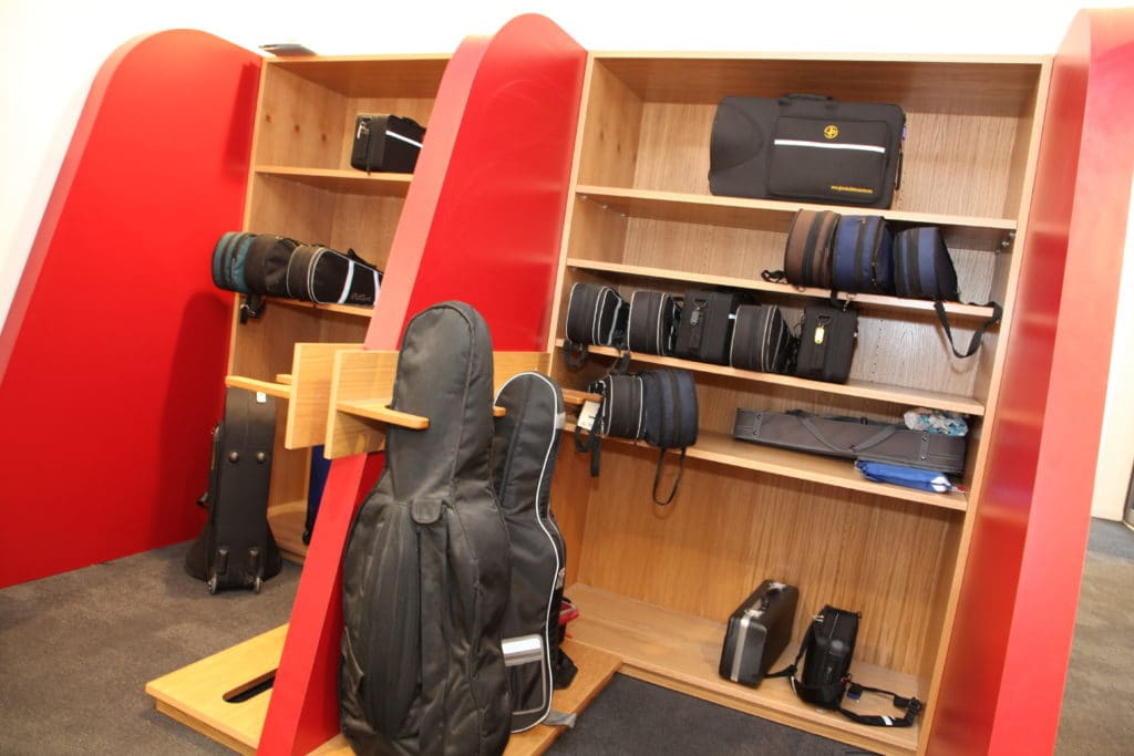 Bromsgrove School Equipment Storage Rack