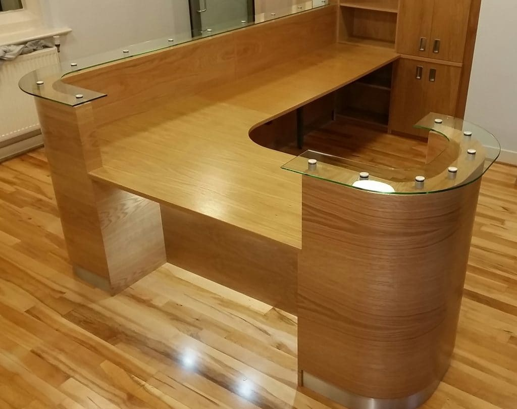 Bromsgrove School Reception Desk