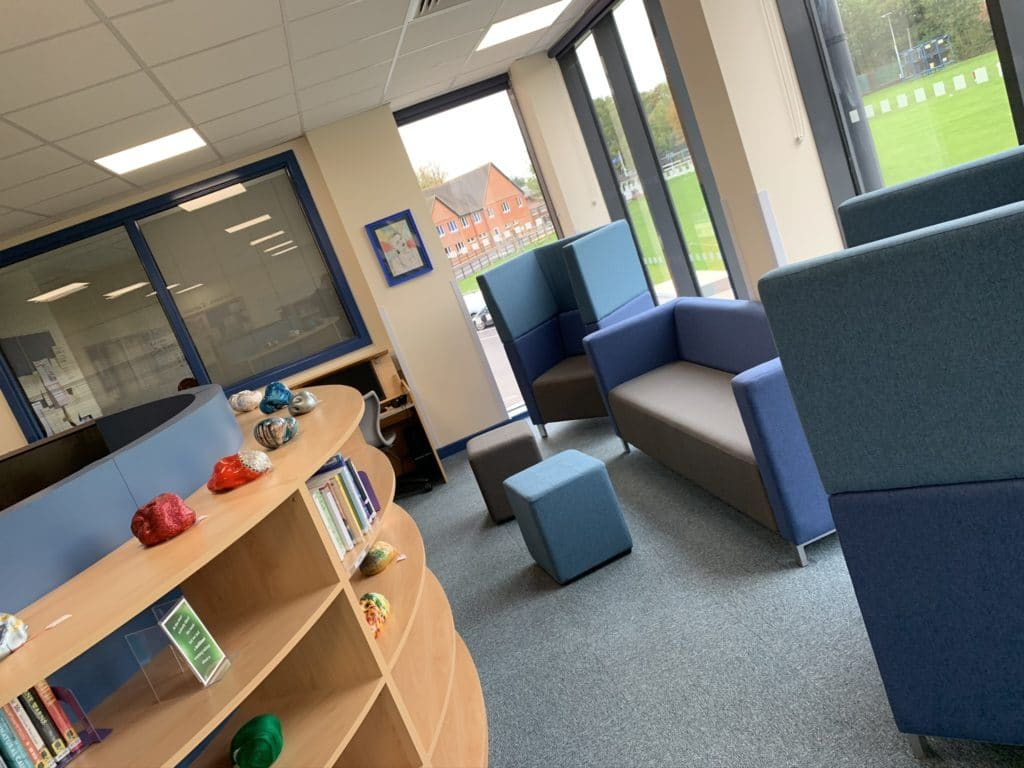Holme Grange School Library Furniture