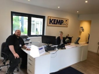 Kemp Hospice reception