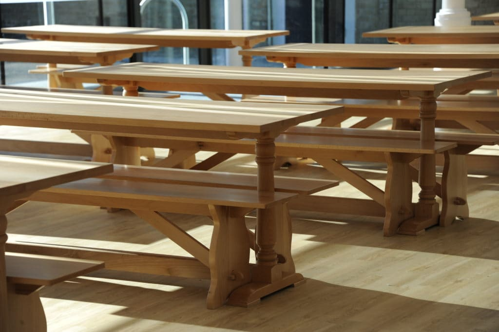 Kimbolton School Dining Furniture
