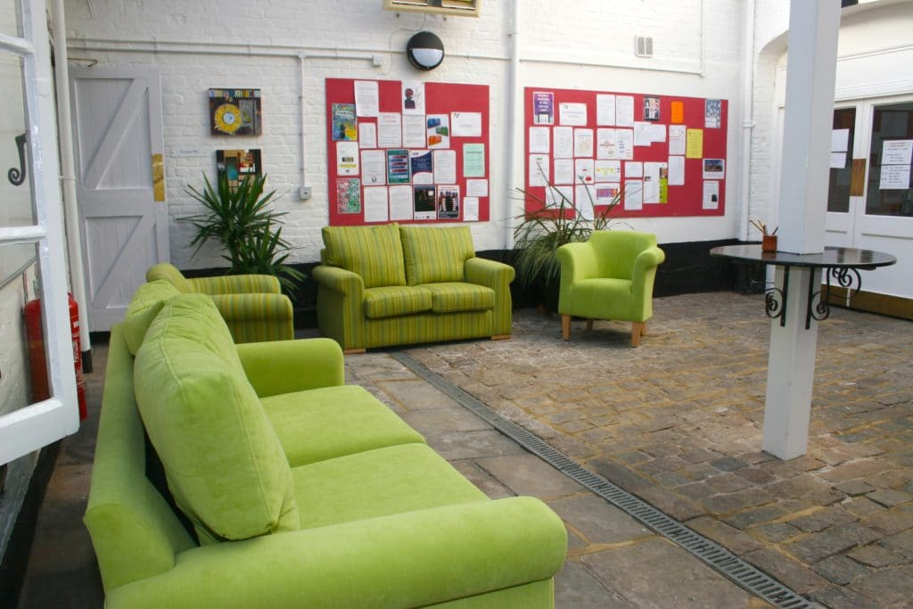 Marlborough College Common Room Seating