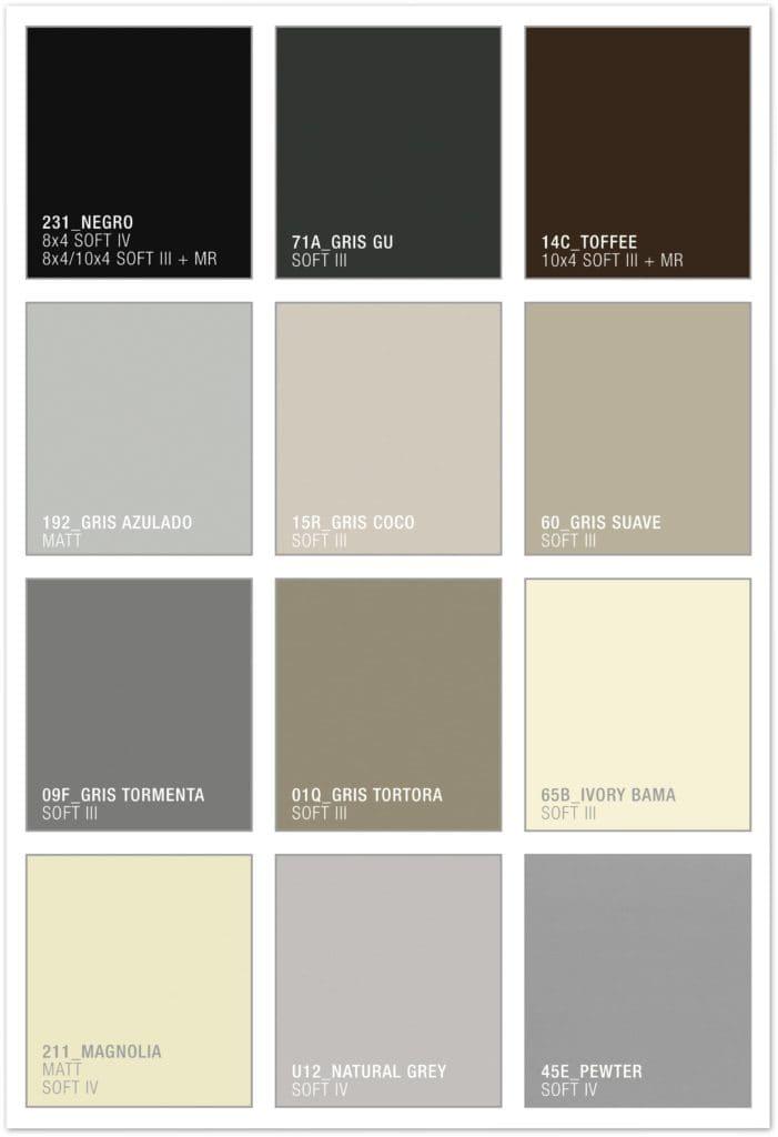 Melamine Laminate Colours