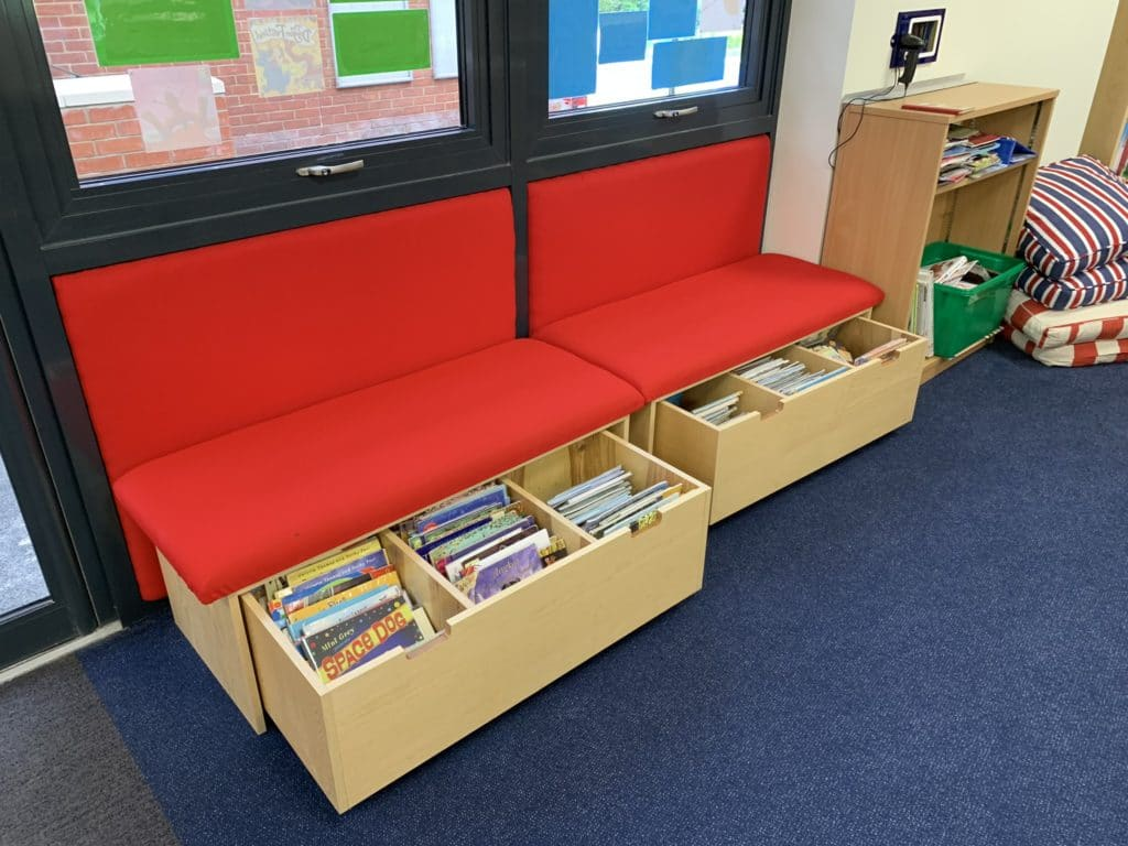St Andrews, Woking Library Furniture